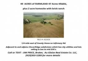 13701 Infirmary, Wapakoneta, OH - Ohio 45895, 2 Bedrooms Bedrooms, ,1.1 BathroomsBathrooms,Farm (5 Acres Or More),Infirmary,432428