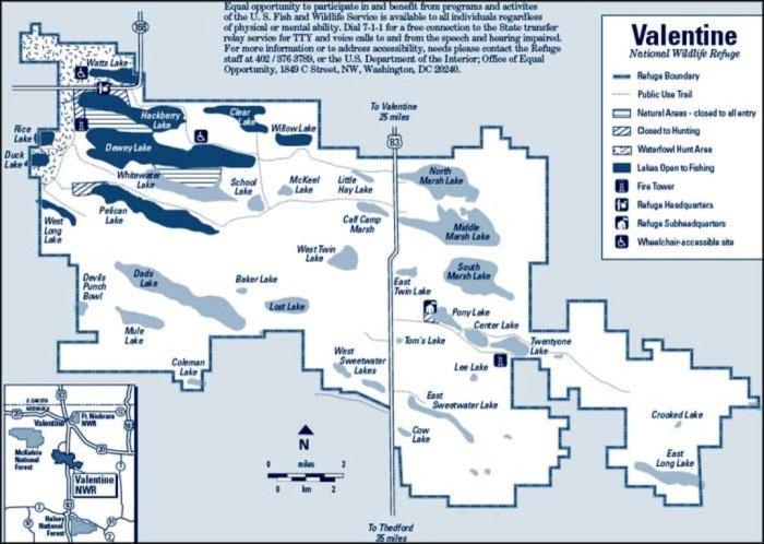 Merritt Reservoir Nearby Attractions - Valentine Wildlife Refuge