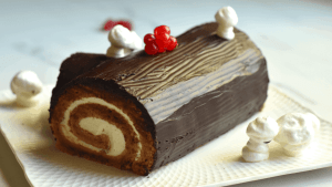 YULE LOG RECIPE (Bûche de Noël)