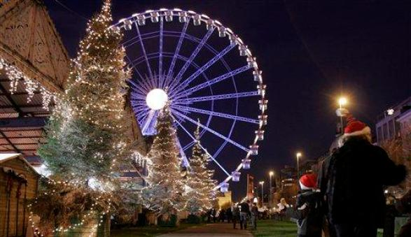 Christmas Celebration in the Belgium is magical feeling