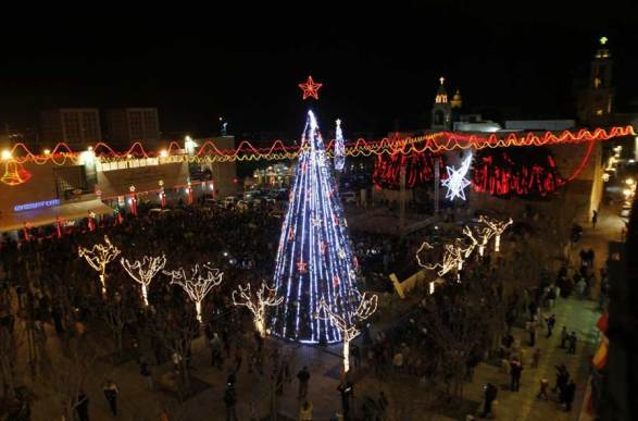 Merry Christmas in The Palestinian Territories