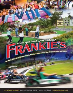 Frankies Fun Park ad