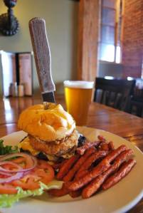 Old Mill Brew Burger