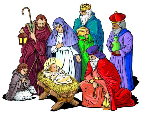 religious Christmas Clip Art