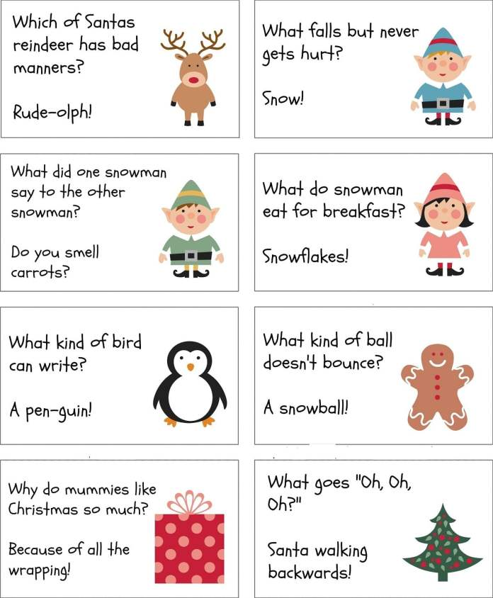 Christmas Riddles For Adults