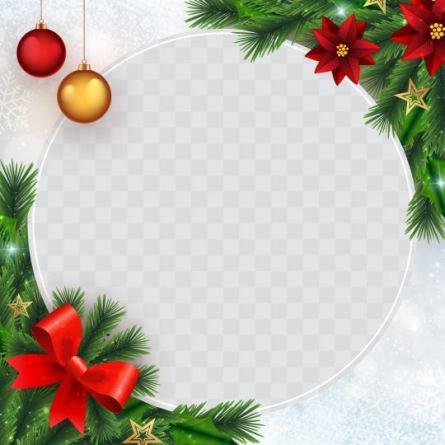Christmas Profile Frame