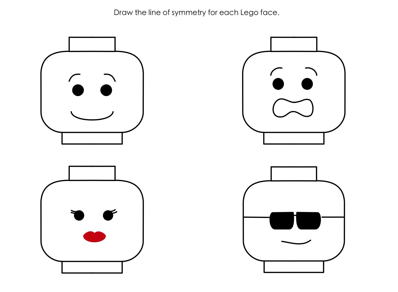 Lego Face Template