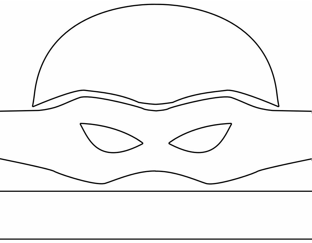 Ninja Turtle Masks Template