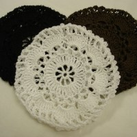 Crocheted Hair Nets / Bun Covers