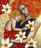 Mother and Child by Hilary Dune
