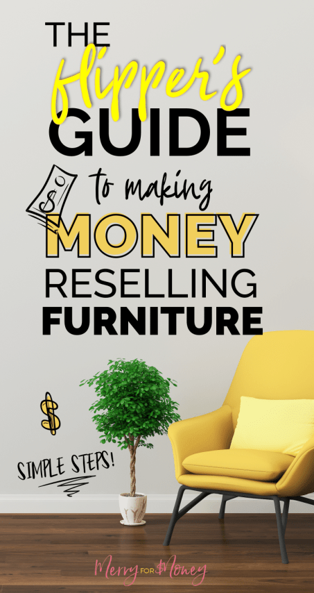 Flipping furniture start up costs are low. The upside is nice cash! Flips go for $100-$400 dollars profit, say if it's done right, and you source an old wardrobe for free, then sell it for $300 profit! Flippers guide to reselling used furniture for money, furniture makeover, side hustle, DIY furniture.