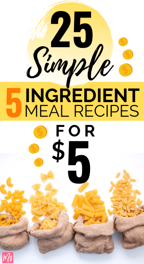 dinner, healthy, crockpot, easy meal planning, 5 ingredient meal recipes for family of 4, big family meals, cheap meals, easy and simple meal recipes, prep meal planning on a budget, 5 ingredients recipes  #mealplanning #cheapmeals