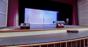 View of the merryman stage