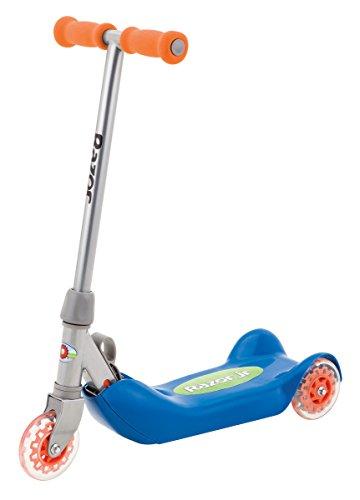 Razor Jr. Folding Kiddie Kick Scooter – Blue