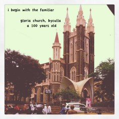 gloria church, byculla