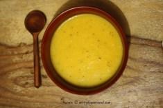 parangikkai soup - ready to eat