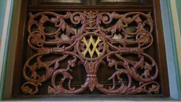 Victoria & Albert Museum - It's original name and emblem