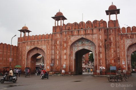 There are three gates along MI Road each as beautiful as the other.
