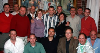Wedding Entertainment Director® Peter Merry with the attendees his November 2009 edition of The Professional Process in Richmond, VA. Click on this photo to learn more about The Professional Process.