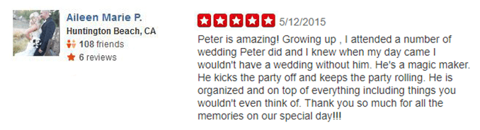 Aileen Marie P Yelp Review