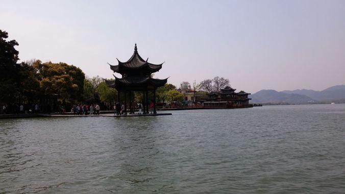 Xi hu - the West Lake in Hangzhou