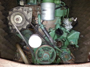 moteur diesel bateau