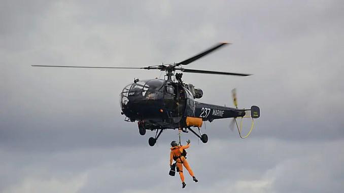 helicoptére securité en mer marine nationale