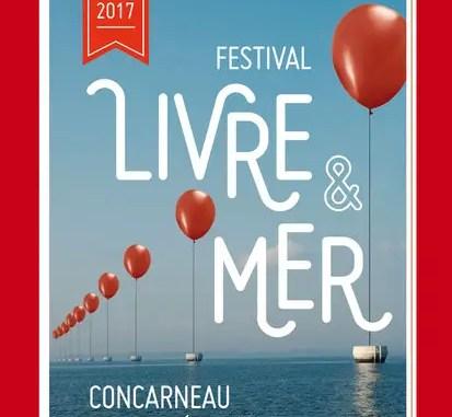 affiche festival livre et mer