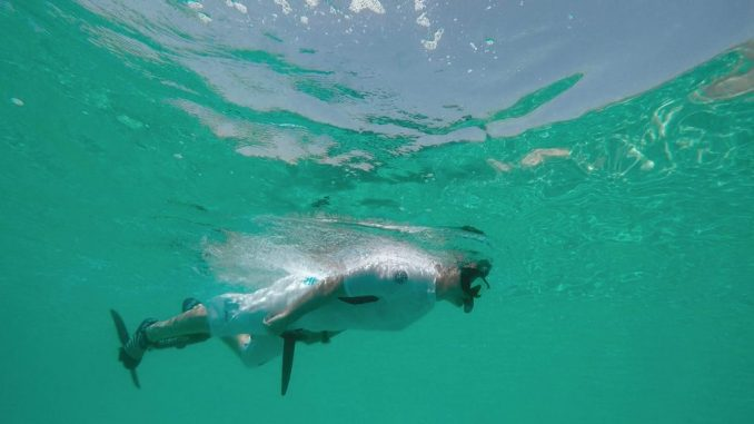 seabike sous l'eau
