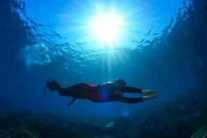 seabike en plongée