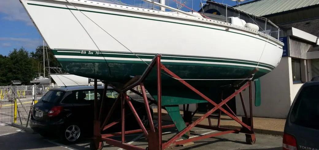 Rénover le gelcoat de son bateau
