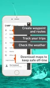 copie ecran C-Map embark