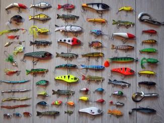 leurres de pêche