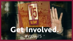 What are you doing for VJ Day 75?