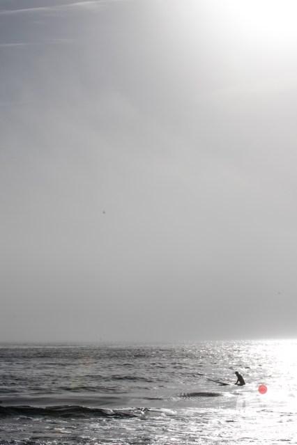 Waiting (Portrait) - Narragansett Beach, RI