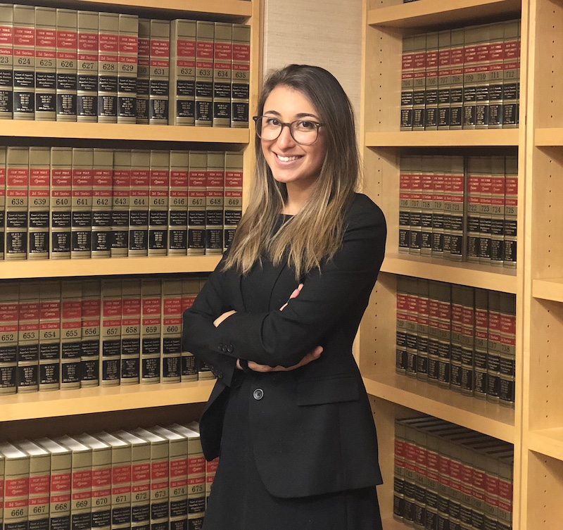 Merson Law Associate Sarah Cantos