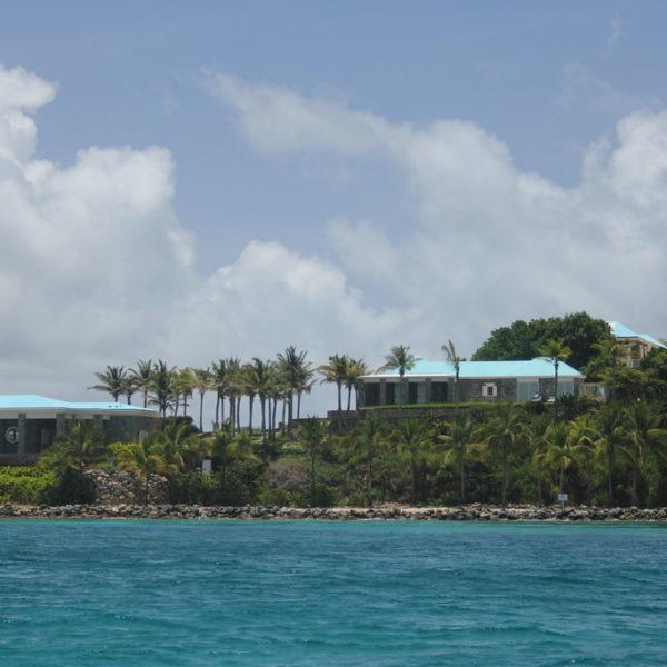 Little Saint James Island, where Jeffrey Epstein kept his victims