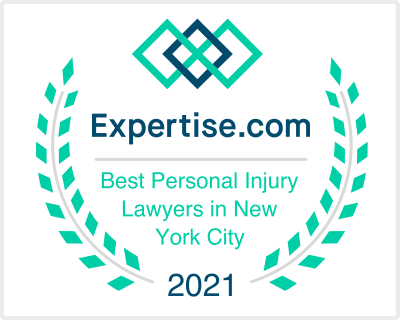 Merson Law expertise com best personal injury lawyers 2021 badge