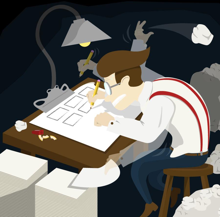 animation production - storyboarding