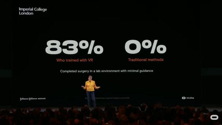 VR training study