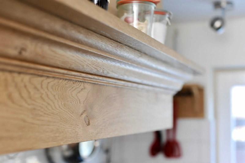 Eiken keuken Blitterswijck afzuigkap ombouw