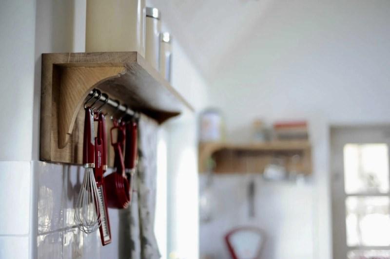 Eiken keuken Blitterswijck console