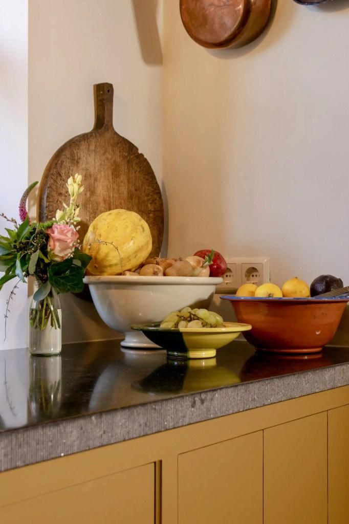 Oudhollandse keuken Waspik fruit en groenten