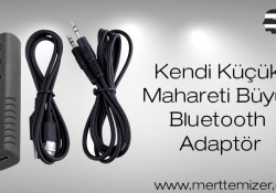 Şarjlı Bluetooth Adaptör