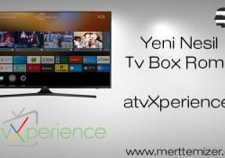 Yeni Nesil Tv Box Romu –  atvXperience