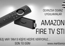 Amazon Fire TV Stick Olmazsa Olmaz Uygulamalar – ilk kurulum –