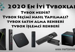 Nedir Bu Tvbox? Tvbox alırken nelere dikkat etmek gerekir?