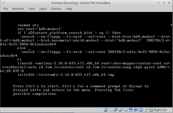Centos7 Root Şifresi Sıfırlama