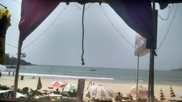 Afternoon view Canacona Goa