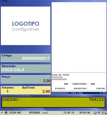 %name Software Frente de Caixa